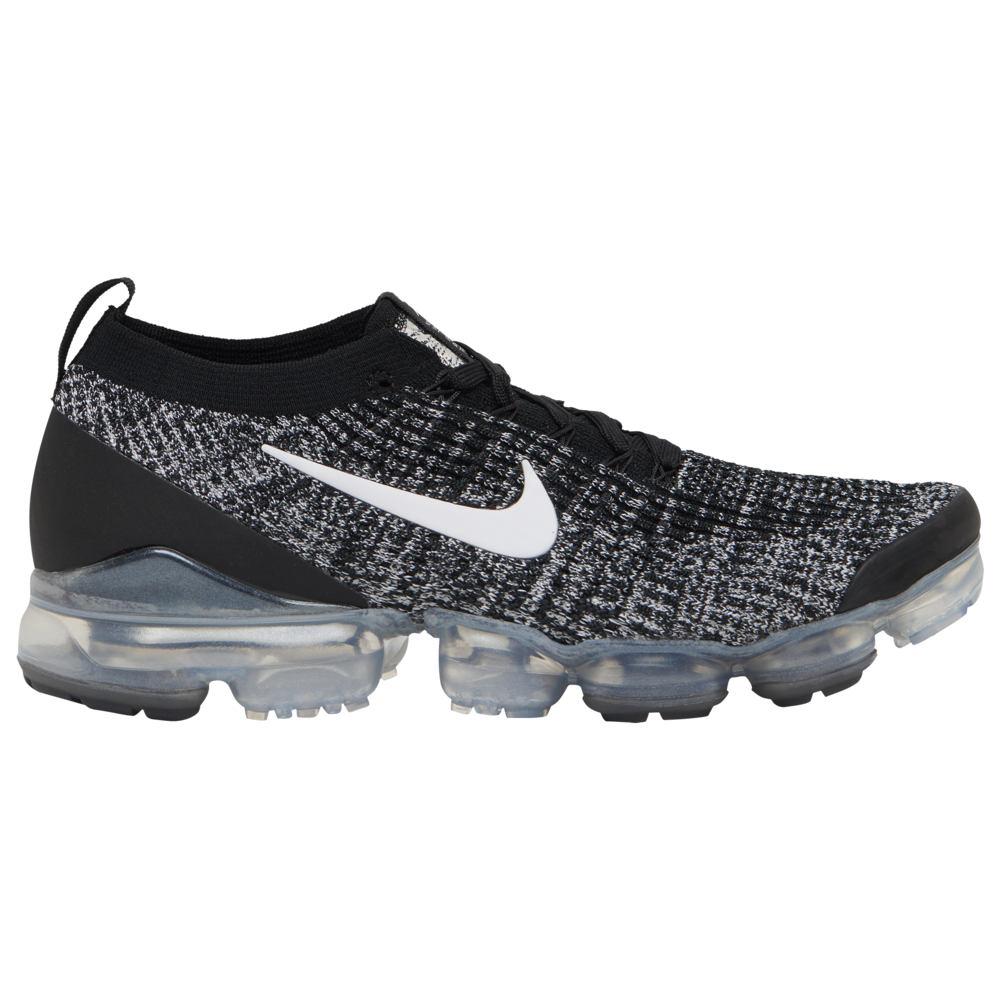 ナイキ Nike メンズ ランニング・ウォーキング シューズ・靴【Air Vapormax Flyknit 3】黒/白い Cookies and Cream