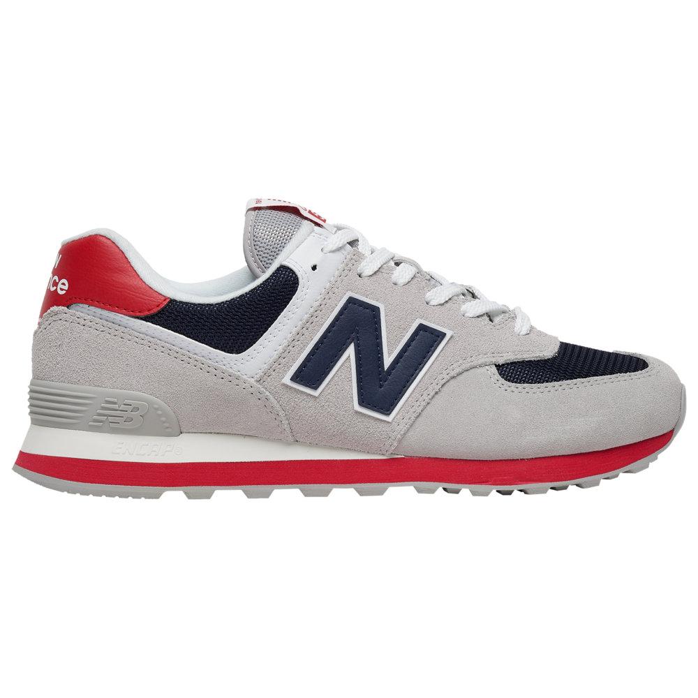 ニューバランス New Balance メンズ ランニング・ウォーキング シューズ・靴【574】Rain Cloud/Team Red