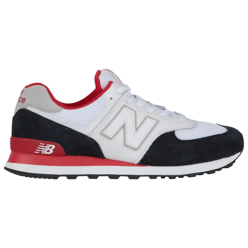 ニューバランス New Balance メンズ ランニング・ウォーキング シューズ・靴【574】Black/Team Red