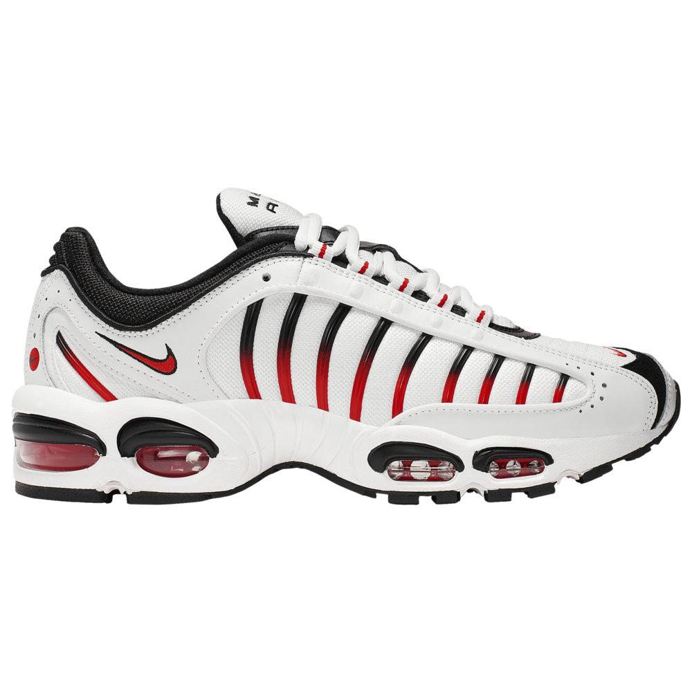ナイキ Nike メンズ ランニング・ウォーキング シューズ・靴【Air Max Tailwind IV】White/Habanero Red/Black