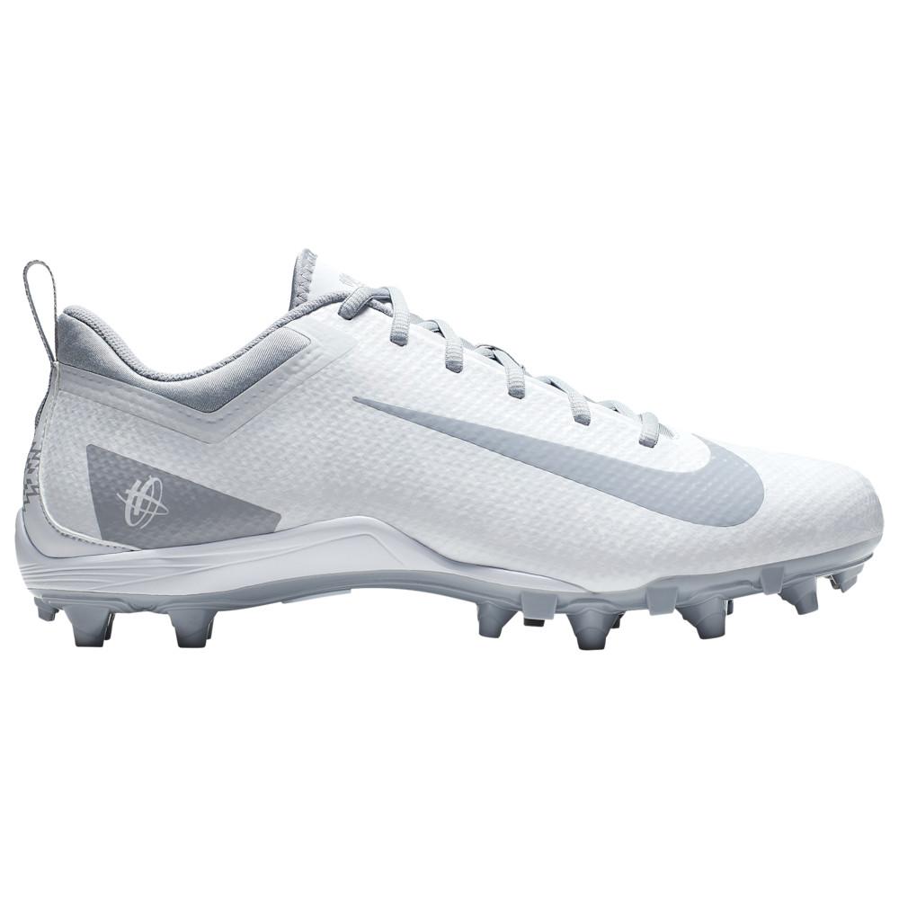 ナイキ Nike メンズ ラクロス シューズ・靴【Alpha Huarache 7 varsity LAX Low】White/Wolf Grey
