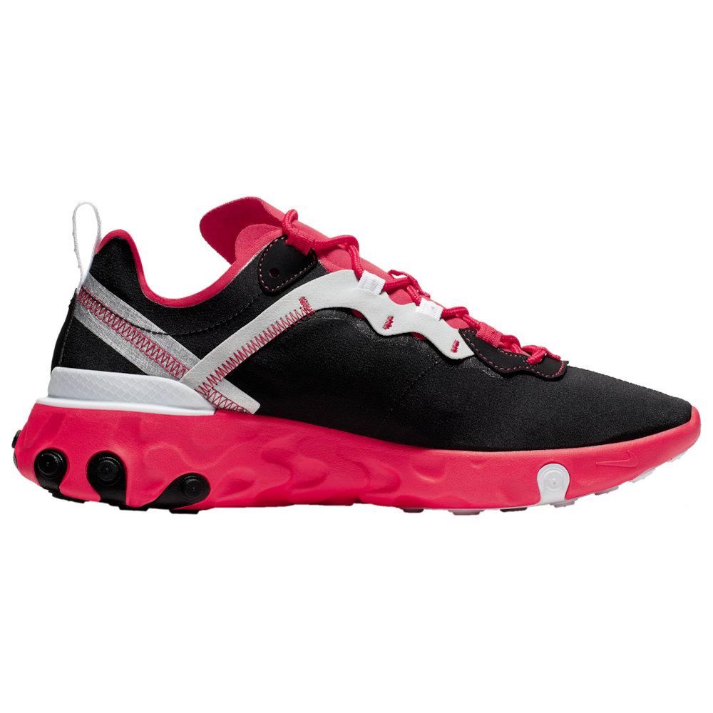 ナイキ Nike メンズ ランニング・ウォーキング シューズ・靴【React Element 55】Black/White/Red