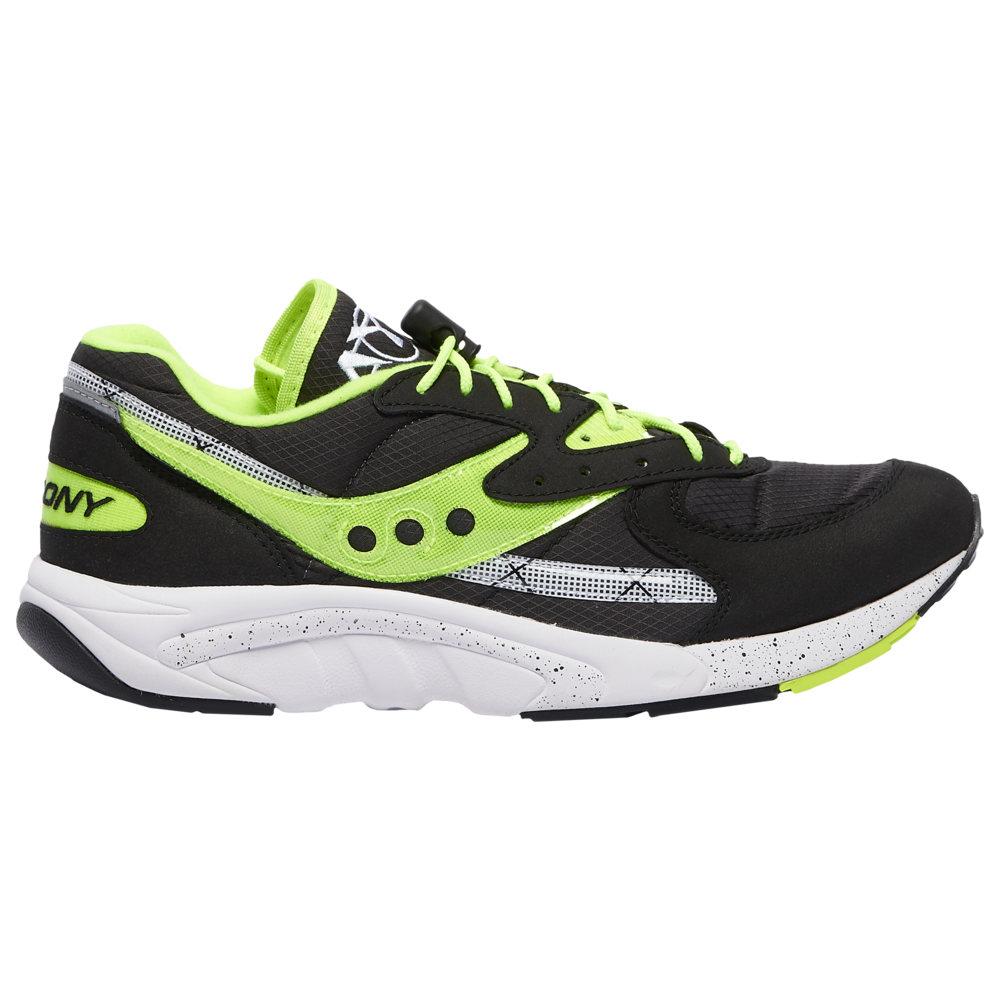 サッカニー Saucony メンズ ランニング・ウォーキング シューズ・靴【Aya】Black/Neon