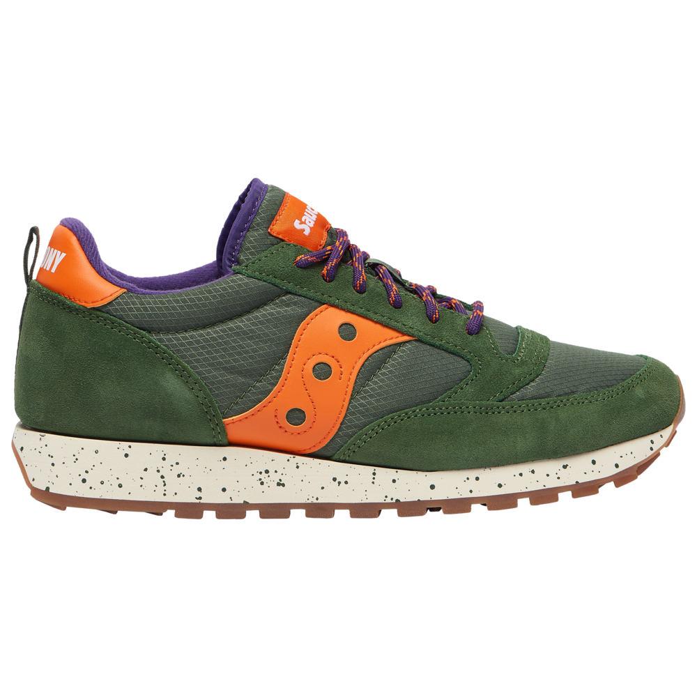 サッカニー Saucony メンズ ランニング・ウォーキング シューズ・靴【Jazz Original】Green/Orange