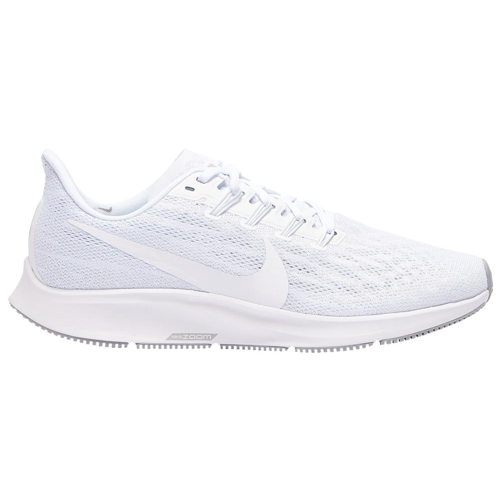 ナイキ Nike メンズ ランニング・ウォーキング エアズーム シューズ・靴【Air Zoom Pegasus 36】White/Pure Platinum/Half Blue/Wolf Grey