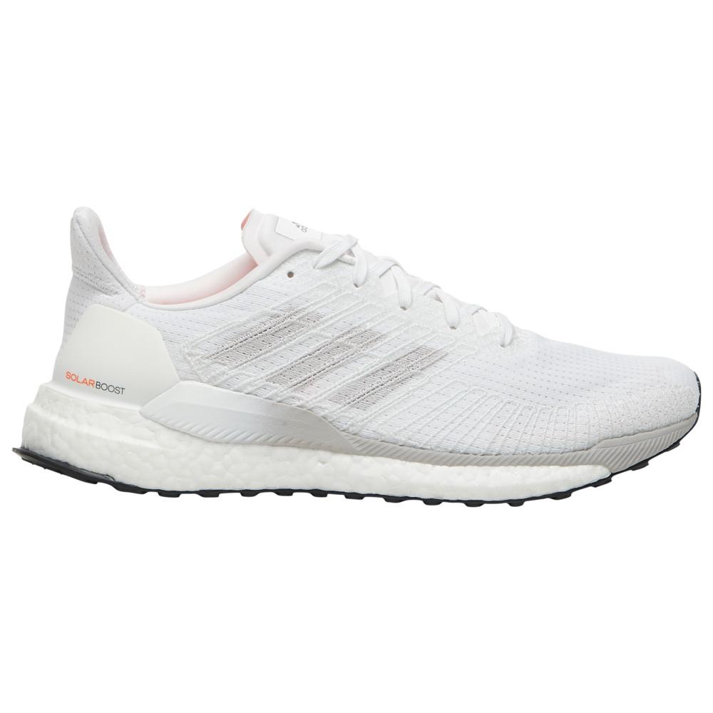 アディダス adidas メンズ ランニング・ウォーキング シューズ・靴【Solar Boost 19】White/White/Solar Orange