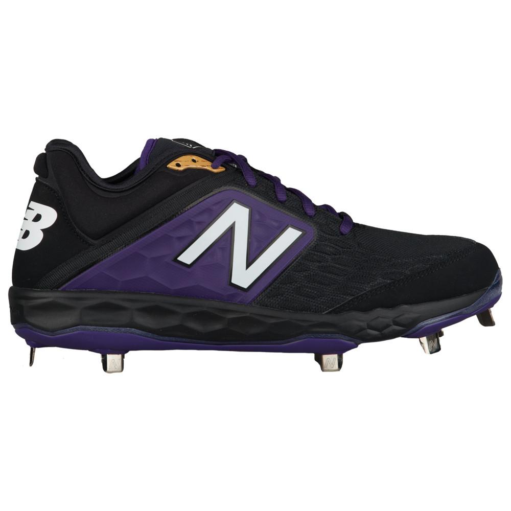 ニューバランス New Balance メンズ 野球 シューズ・靴【3000v4 Metal Low】Black/Purple