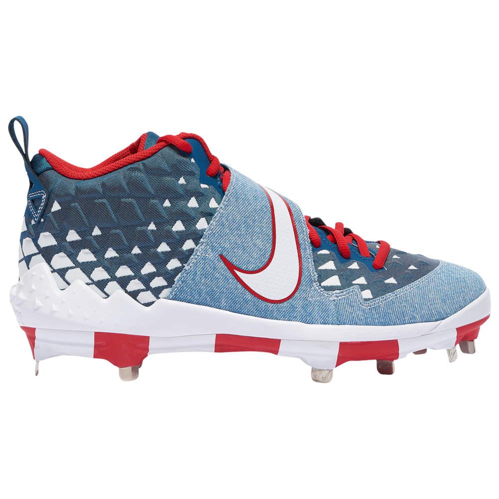 ナイキ Nike メンズ 野球 シューズ・靴【Force Zoom Trout 6 PRM】White/Red All Star Game