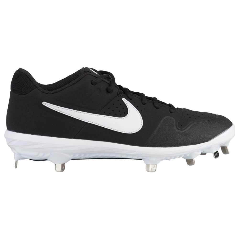 ナイキ Nike メンズ 野球 シューズ・靴【Alpha Huarache Varsity Low】Black/White
