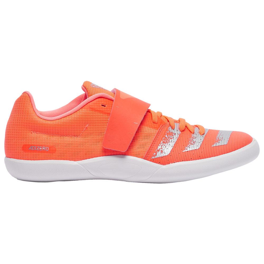 アディダス adidas メンズ 陸上 シューズ・靴【adiZero Discus/Hammer】Signal Coral/Silver Metallic/Footwear White