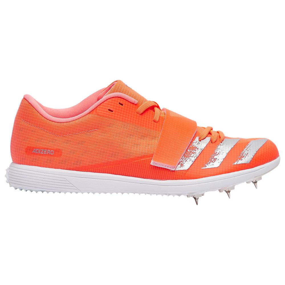 アディダス adidas メンズ 陸上 シューズ・靴【adiZero TJ/PV】Signal Coral/Silver Metallic/Footwear White