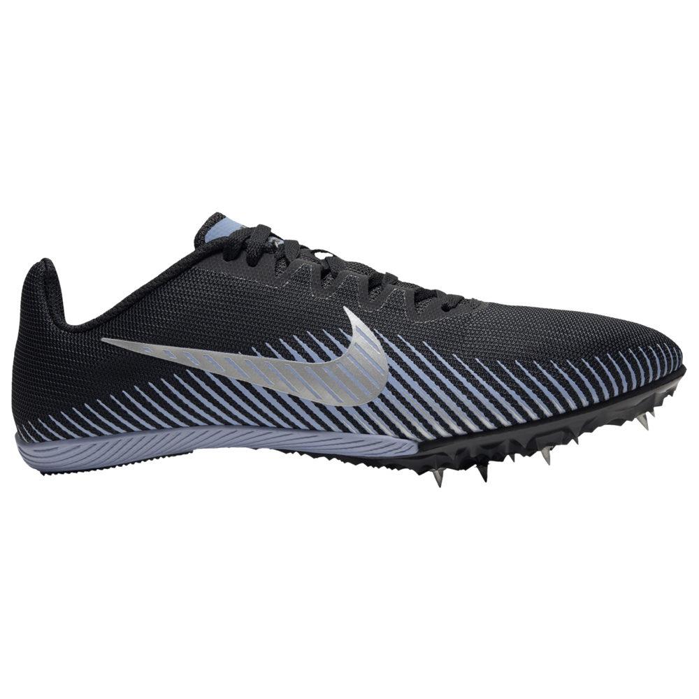 ナイキ Nike メンズ 陸上 シューズ・靴【Zoom Rival M 9】Black/Metallic Silver/Indigo Fog