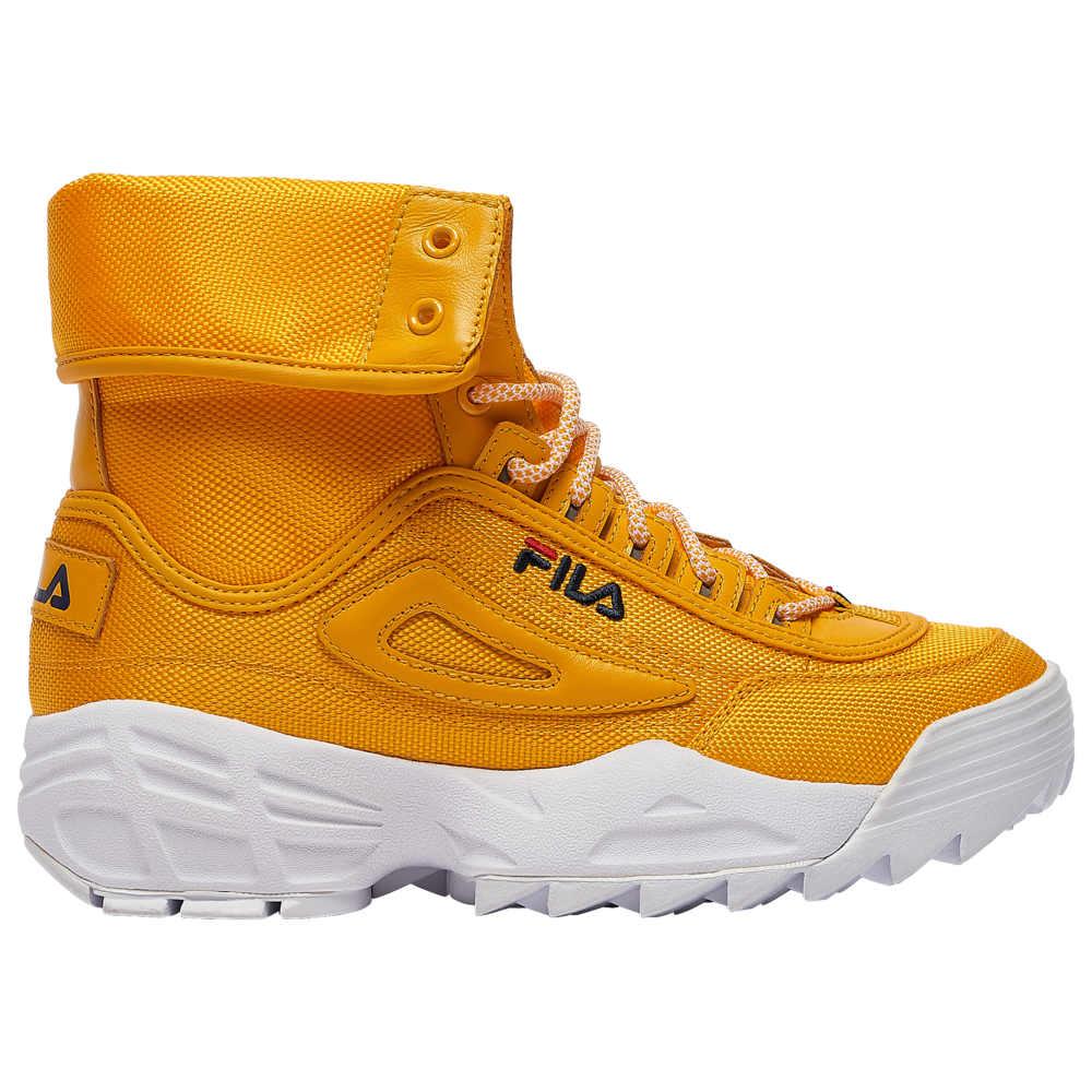 フィラ Fila レディース ブーツ シューズ・靴【Disruptor Ballistic Boot】Citrus/Navy/Red