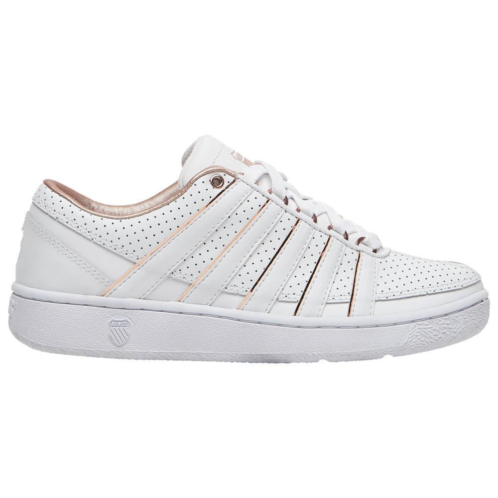 ケースイス K-Swiss レディース テニス シューズ・靴【Ramli】White/Rose Gold SE/Rose Gold Pack