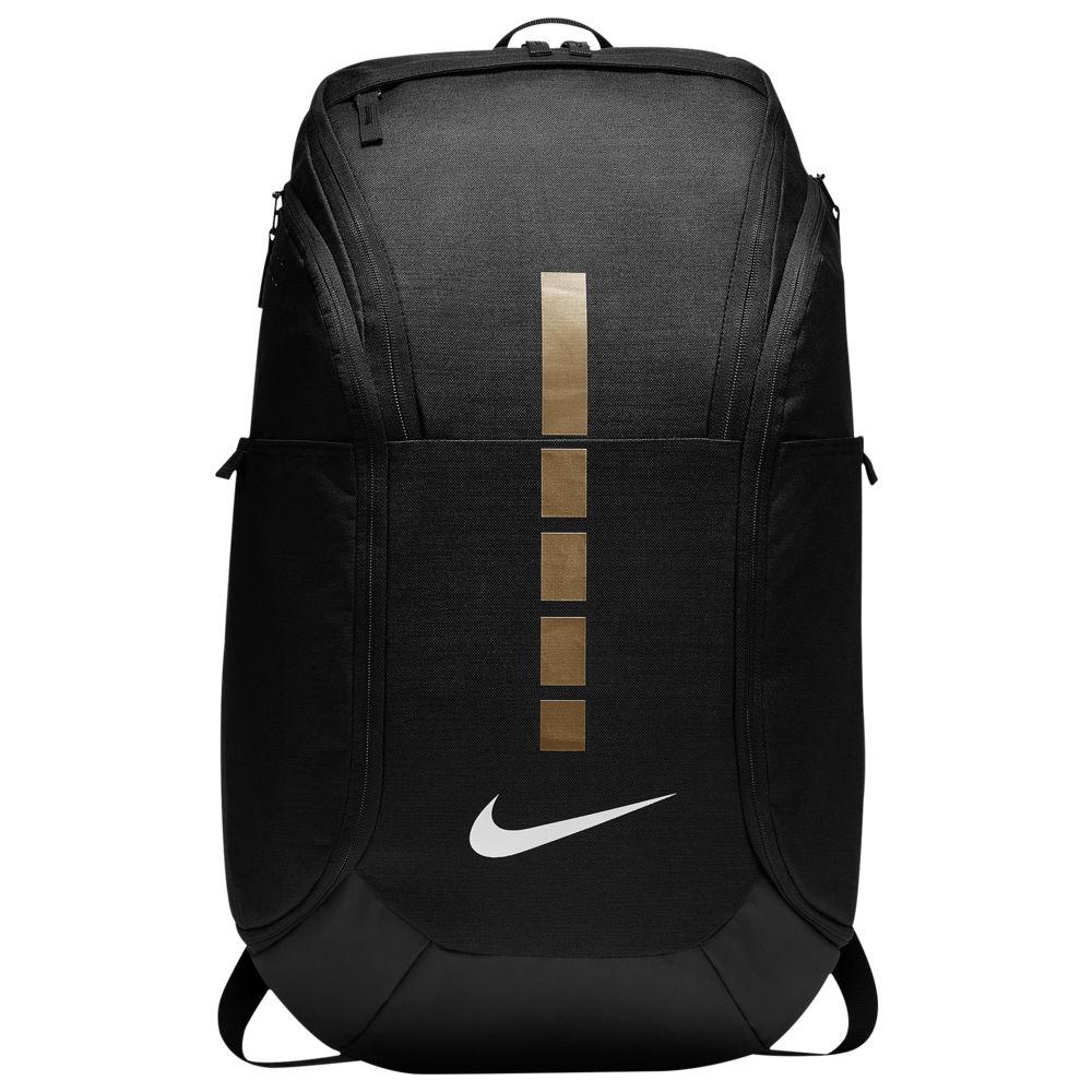 ナイキ Nike ユニセックス バスケットボール バックパック・リュック【Hoops Elite Pro Backpack】Black/Metallic Gold