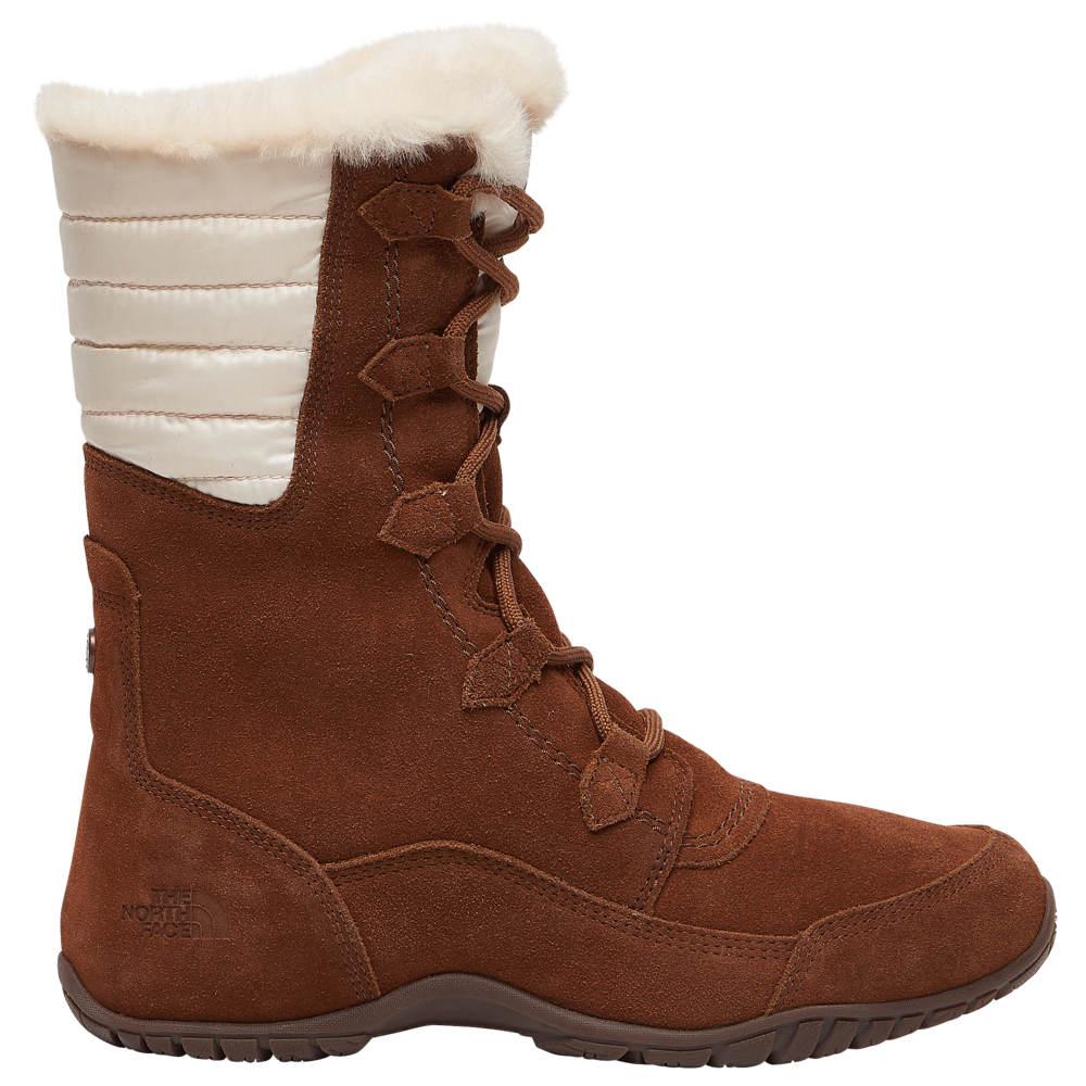 ザ ノースフェイス The North Face レディース ブーツ シューズ・靴【Nuptse Purna II】Dachshund Brown/Vintage White