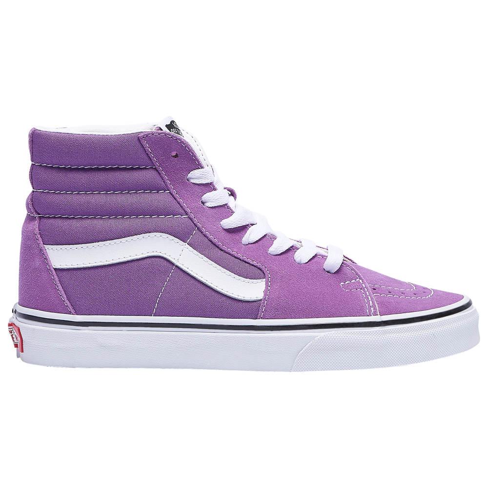 ヴァンズ Vans レディース スケートボード シューズ・靴【SK8-Hi】Dewberry/True White