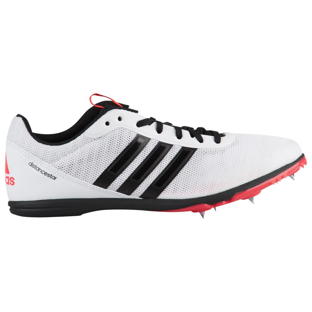 アディダス adidas メンズ 陸上 シューズ・靴【Distancestar】White/Core Black/Shock Red