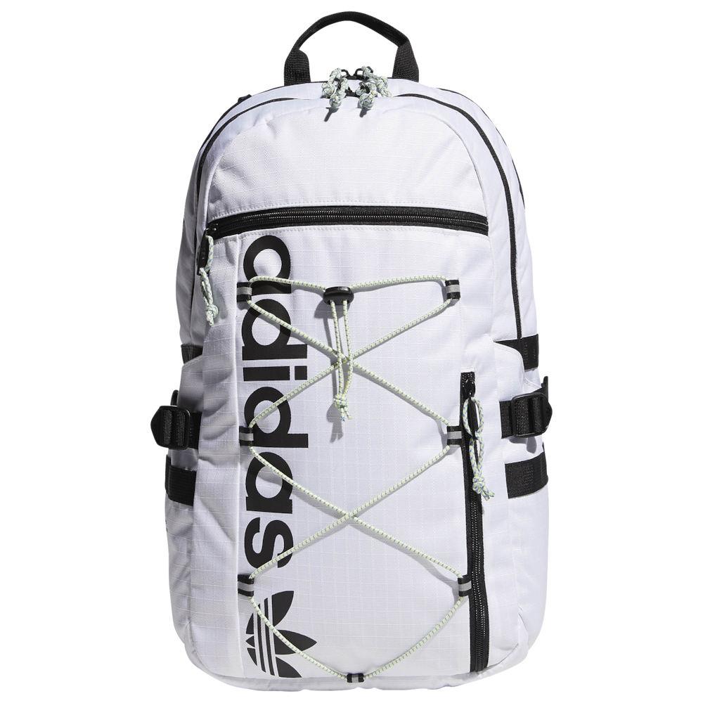 アディダス adidas Originals ユニセックス バックパック・リュック バッグ【Bungee Backpack】White