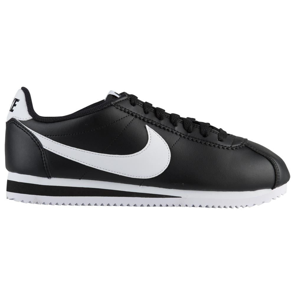 ナイキ Nike レディース ランニング・ウォーキング シューズ・靴【Classic Cortez】Black/White/Black Leather