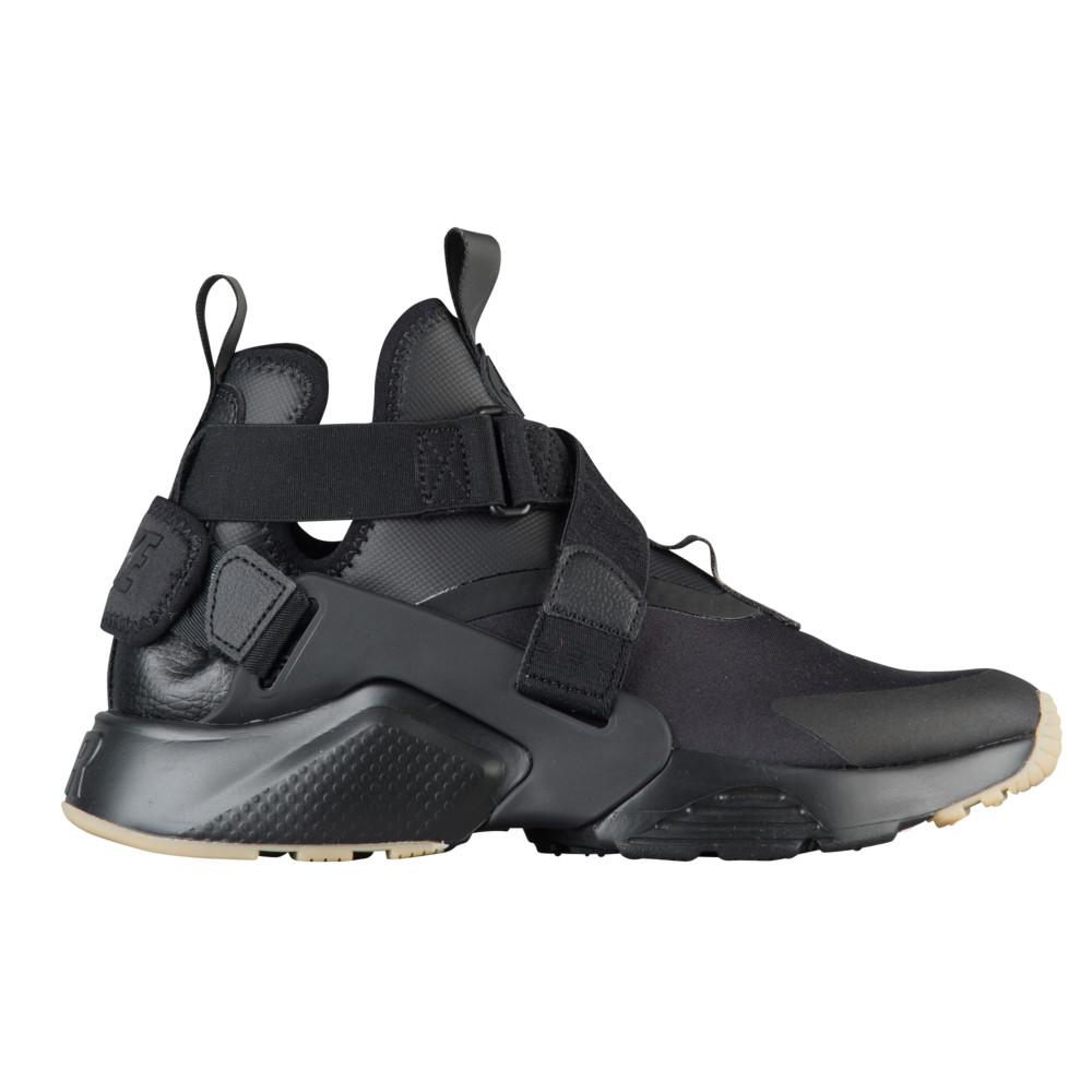 ナイキ Nike レディース ランニング・ウォーキング シューズ・靴【Air Huarache City】黒/黒/Dark グレー
