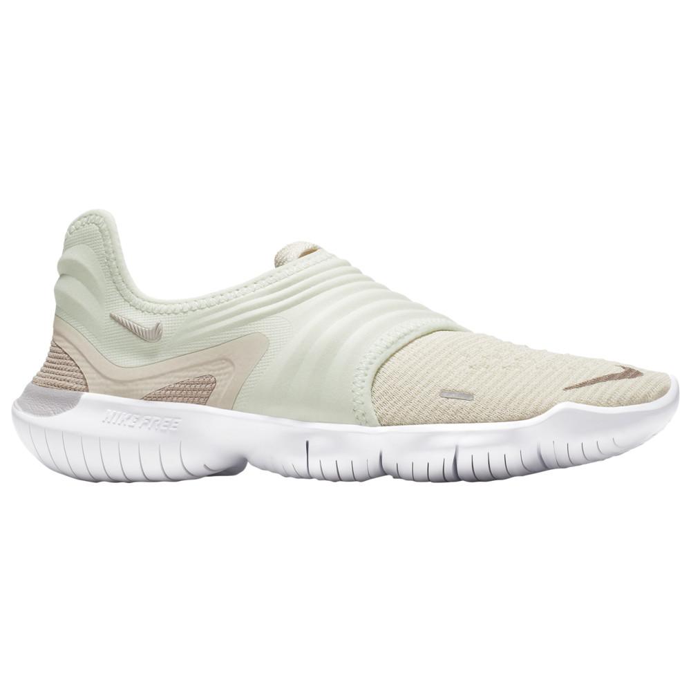 ナイキ Nike レディース ランニング・ウォーキング シューズ・靴【Free RN Flyknit 3.0】Lt Cream/Moon Particle/Teal Tint