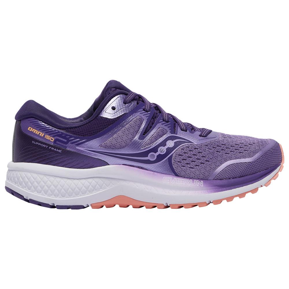 サッカニー Saucony レディース ランニング・ウォーキング シューズ・靴【Omni ISO 2】Purple/Peach