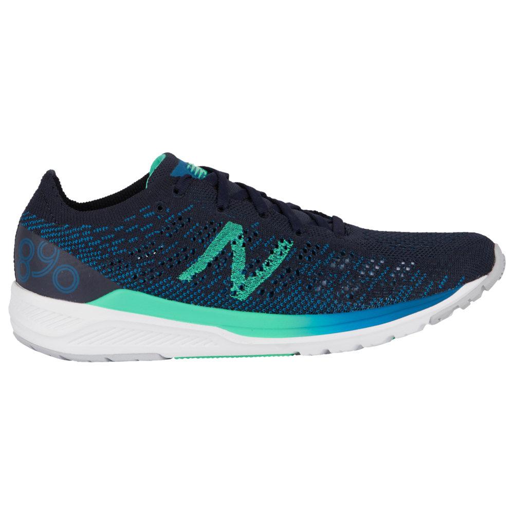 ニューバランス New Balance レディース ランニング・ウォーキング シューズ・靴【890 V7】Dark Neptune/Eclipse/Neon Emerald