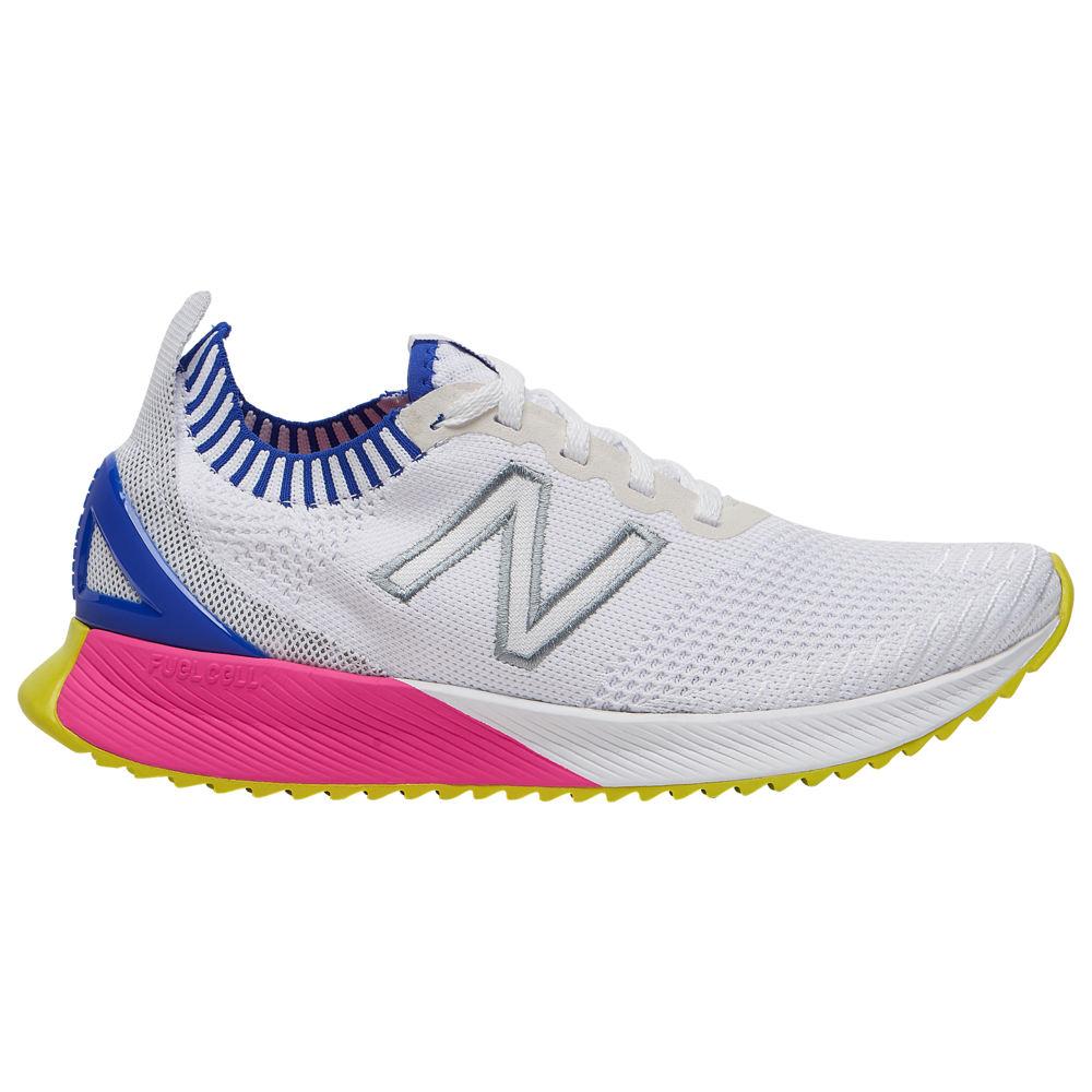 ニューバランス New Balance レディース ランニング・ウォーキング シューズ・靴【FuelCell Echo】White/Uv Blue