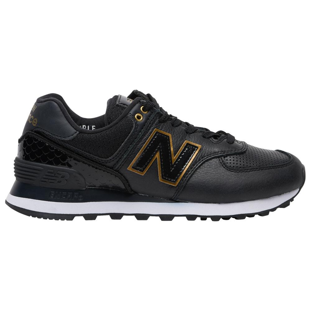 ニューバランス New Balance レディース ランニング・ウォーキング シューズ・靴【574 Classic】Black/Metallic Gold