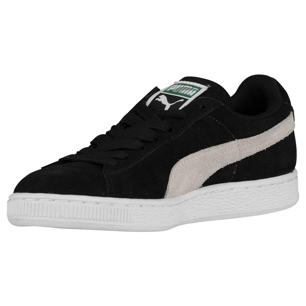 プーマ PUMA レディース バスケットボール シューズ・靴【Suede Classic】Black/White