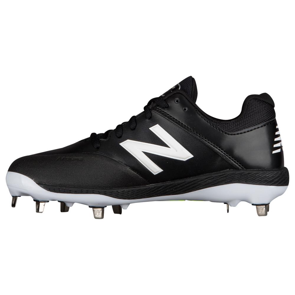 ニューバランス New Balance レディース 野球 シューズ・靴【Fuse 1 Metal Low】Black/White