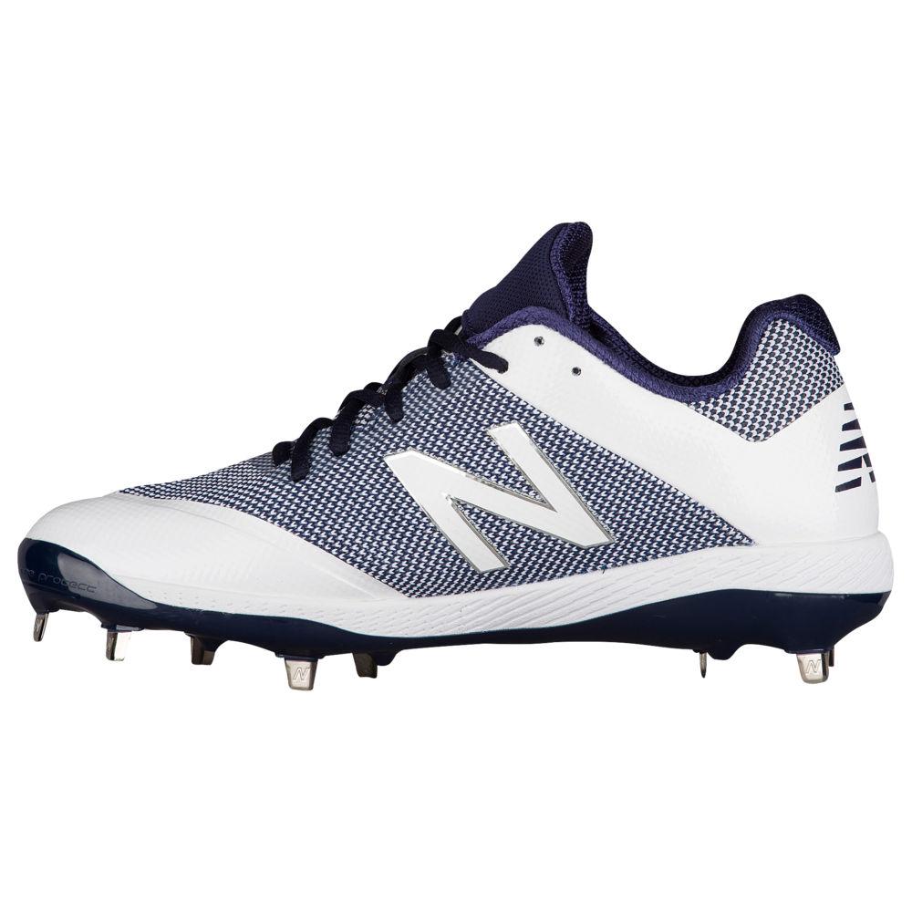 ニューバランス New Balance メンズ 野球 シューズ・靴【4040V4 Metal Low】Navy/White