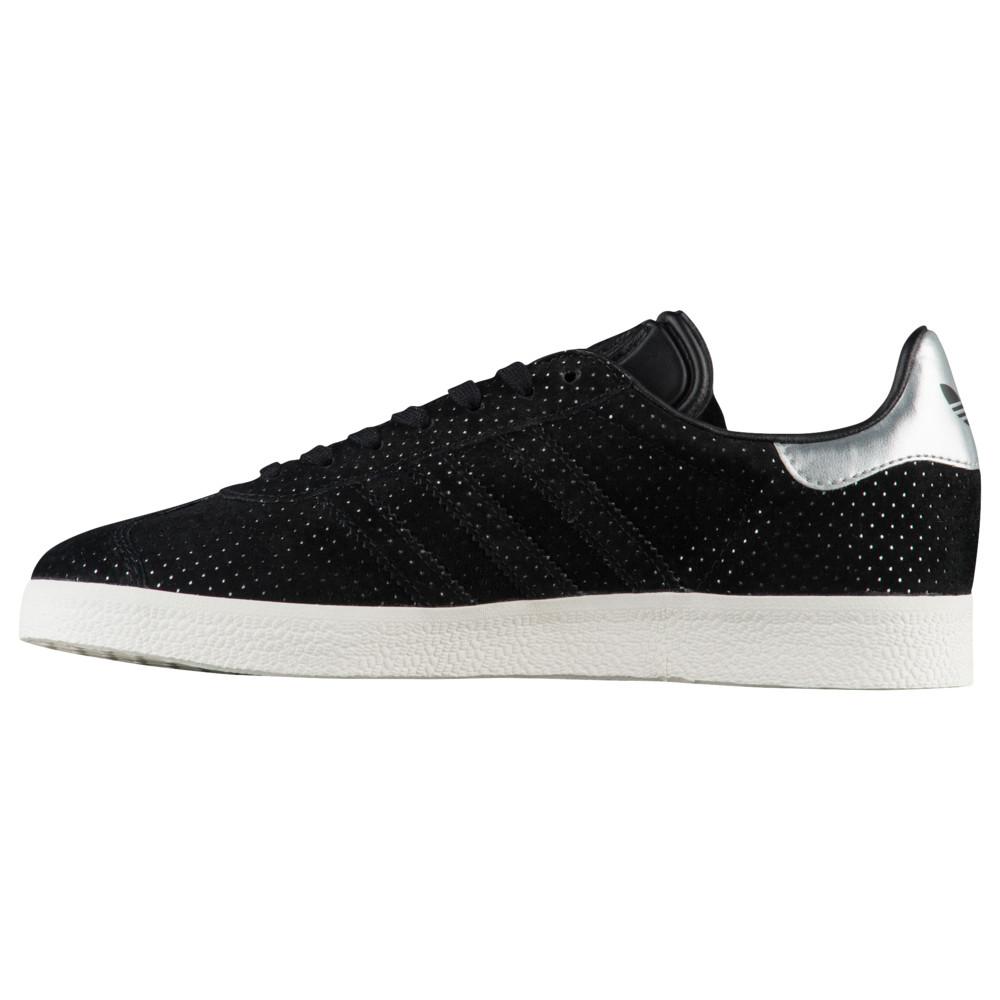 アディダス adidas Originals レディース フィットネス・トレーニング シューズ・靴【Gazelle】Black/Black/Silver Metallic