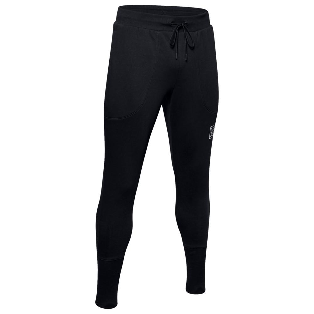 アンダーアーマー Under Armour メンズ バスケットボール ボトムス・パンツ【Baseline Fleece Joggers】Black/Ash Grey