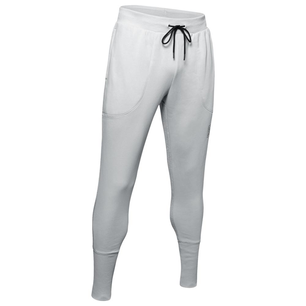 アンダーアーマー Under Armour メンズ バスケットボール ボトムス・パンツ【Baseline Fleece Joggers】Mod Grey/Black