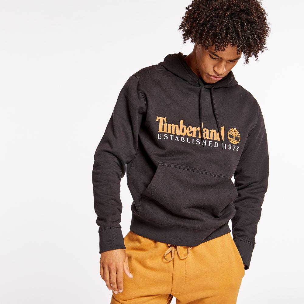 ティンバーランド Timberland メンズ パーカー トップス【Essentials Hoodie】Black/Wheat Boot