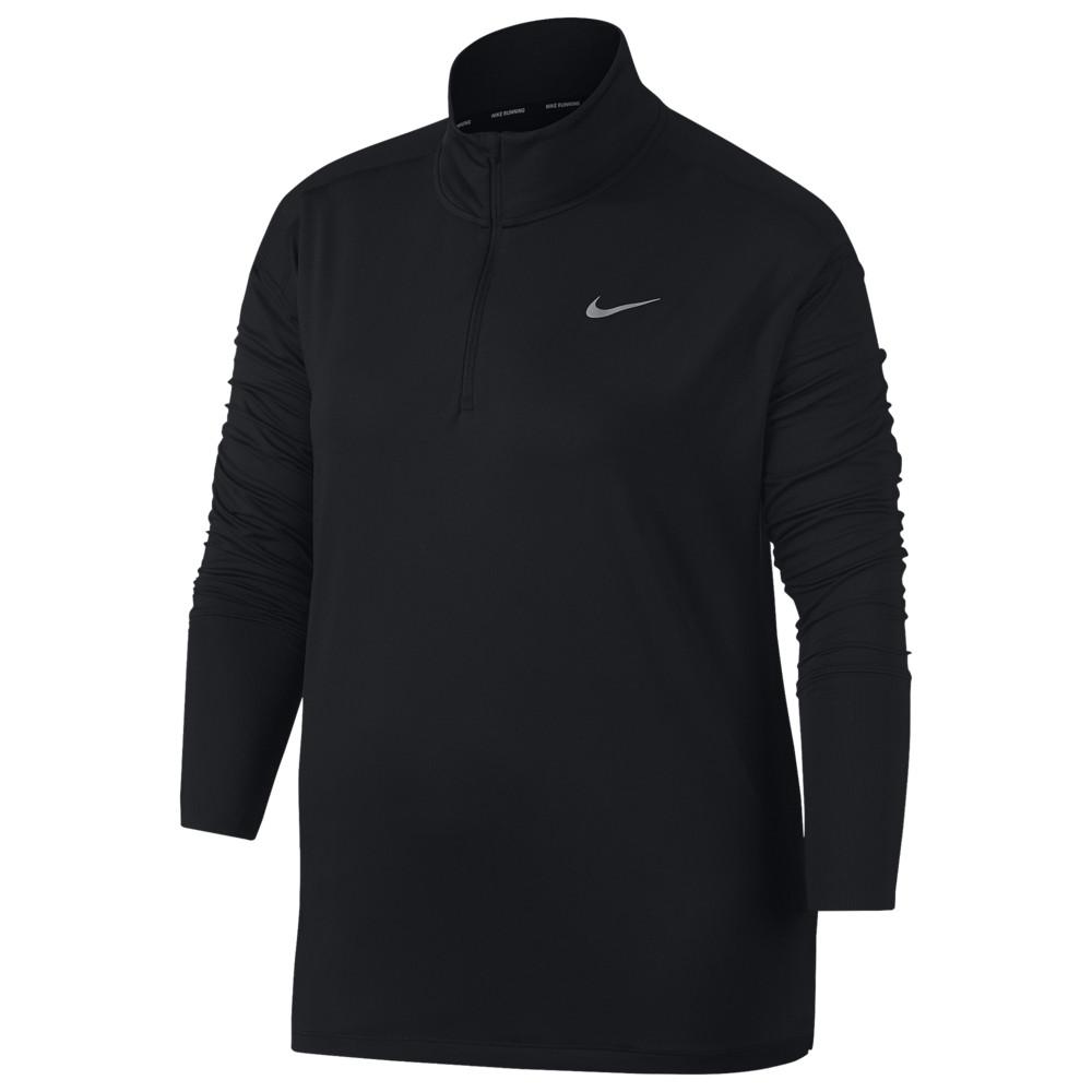 ナイキ Nike レディース フィットネス・トレーニング 大きいサイズ トップス【Plus Size Element Half-Zip Top】