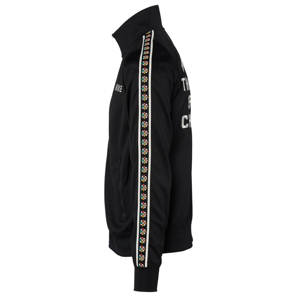 ナイキ Nike メンズ ジャージ アウター【Evolution Of The Swoosh Tribute Jacket】Black/Black