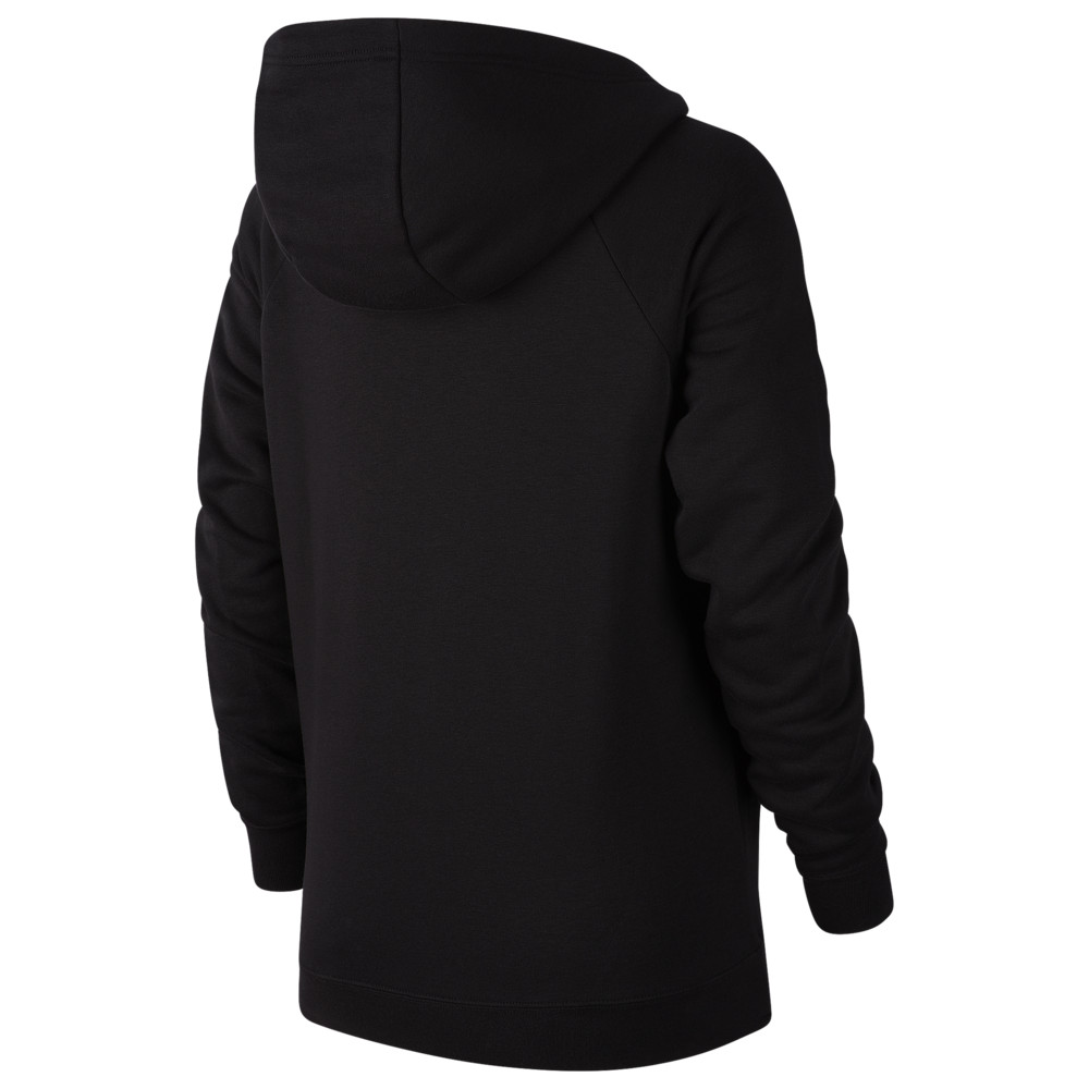 ナイキ Nike レディース パーカー トップス【Essential Funnel Neck P/O Hoodie】Black/White