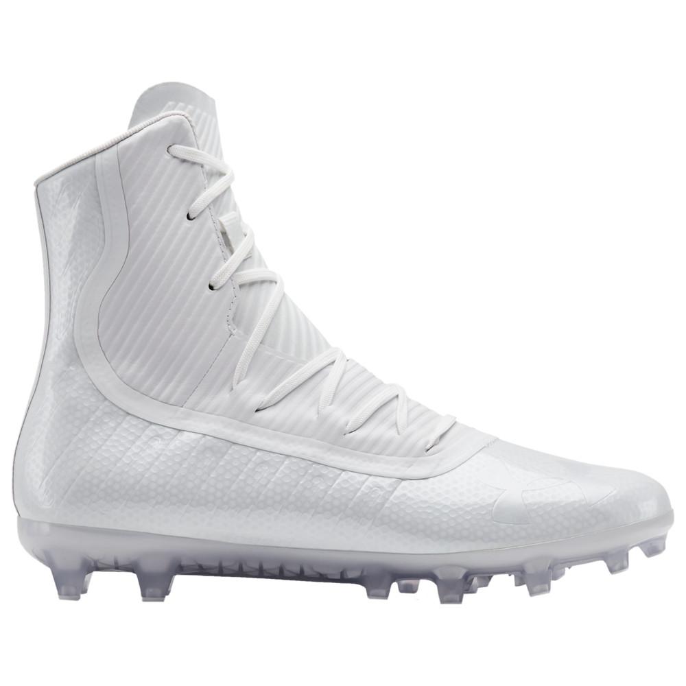 アンダーアーマー Under Armour メンズ アメリカンフットボール シューズ・靴【Highlight MC】White/White