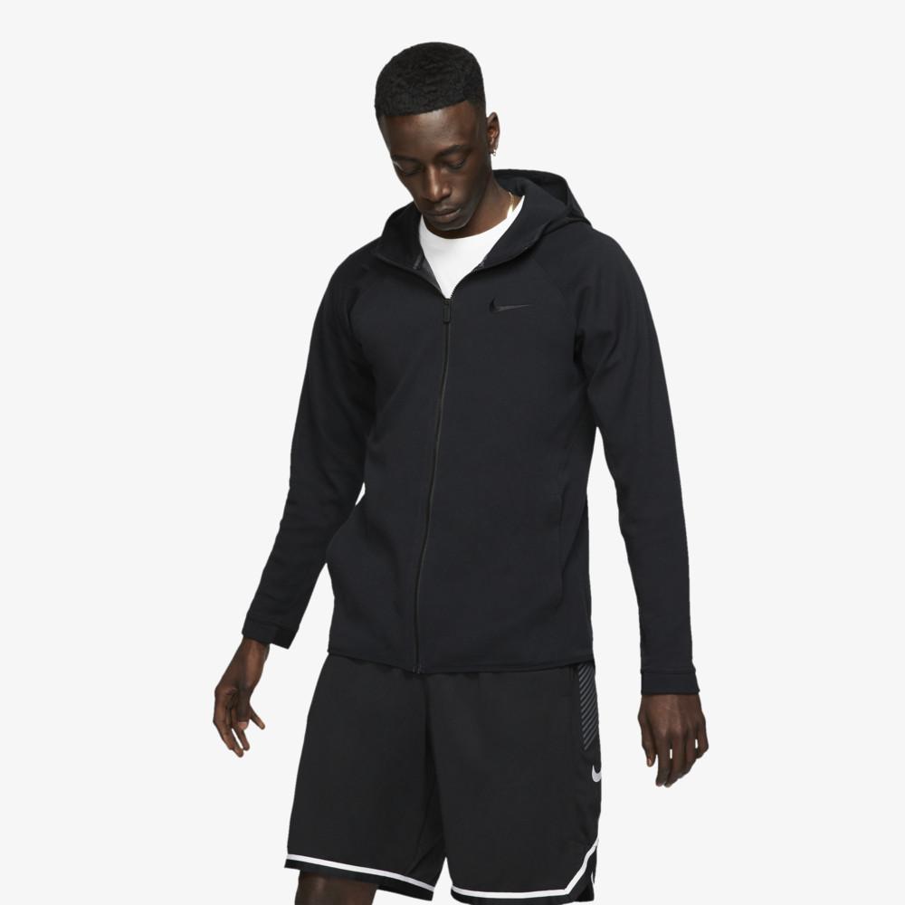 ナイキ Nike メンズ バスケットボール パーカー トップス【Showtime F/Z Hoodie】Black/Cool Grey/Anthracite