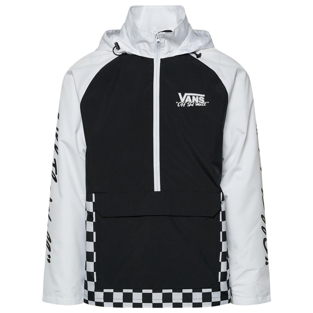 ヴァンズ Vans メンズ ジャケット アノラック アウター【BMX Off The Wall Anorak】Black/White