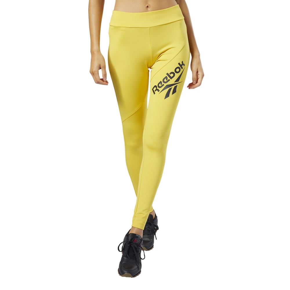 リーボック Reebok レディース スパッツ・レギンス インナー・下着【Classic VP Legging】Toxic Yellow