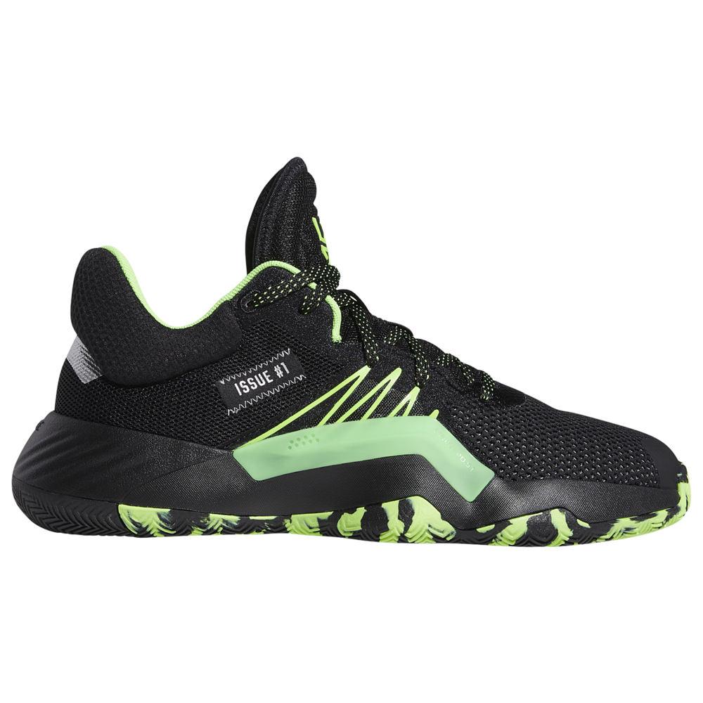アディダス adidas メンズ バスケットボール シューズ・靴【D.O.N. Issue 1】Donovan Mitchell Black/Team Solar Green/Silver Metallic
