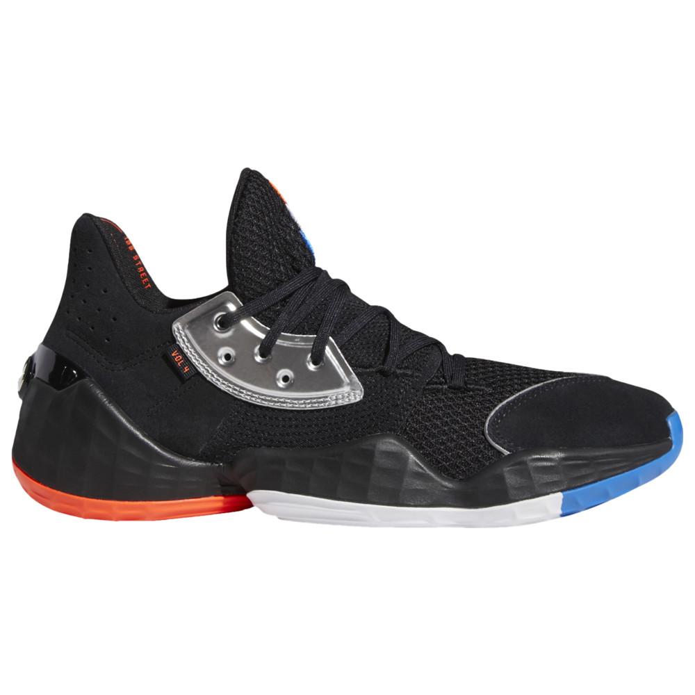 アディダス adidas メンズ バスケットボール シューズ・靴【Harden Vol. 4】James Harden Black/Silver Metallic/Blue