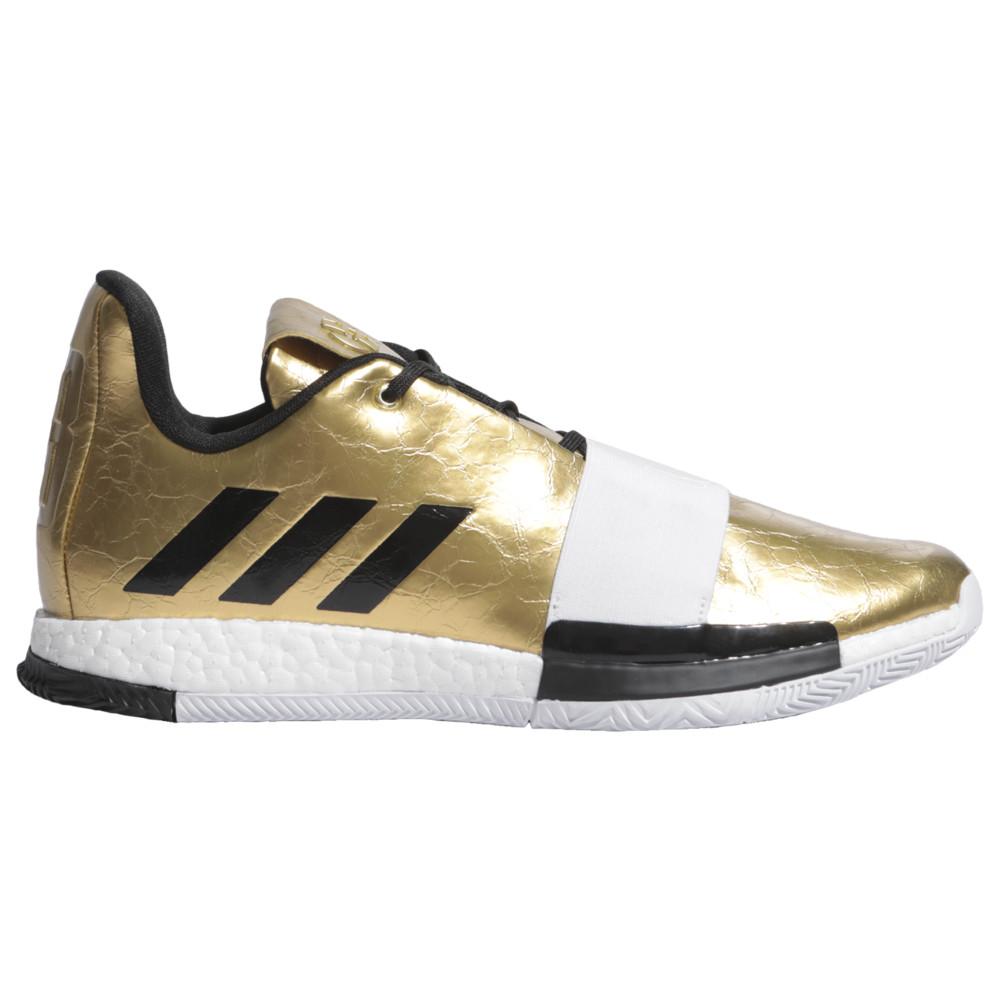 アディダス adidas メンズ バスケットボール シューズ・靴【Harden Vol. 3】James Harden Gold Metallic/Black