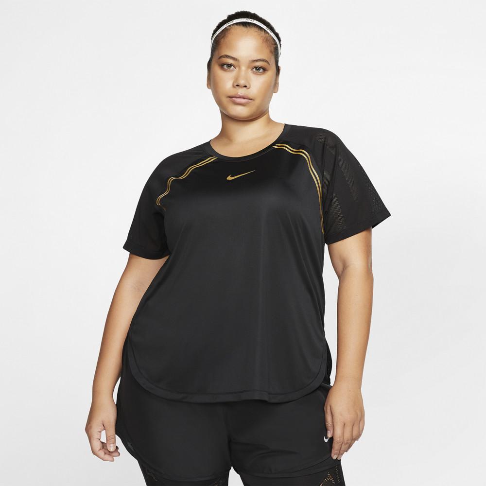 ナイキ Nike レディース フィットネス・トレーニング 大きいサイズ Tシャツ トップス【Plus Size Glam T-Shirt】