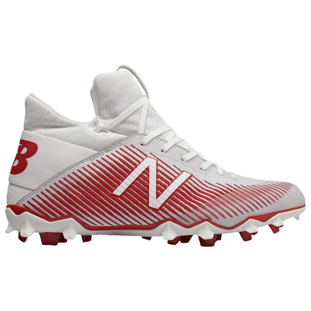 ニューバランス New Balance メンズ ラクロス シューズ・靴【Freeze 2.0】White/Red
