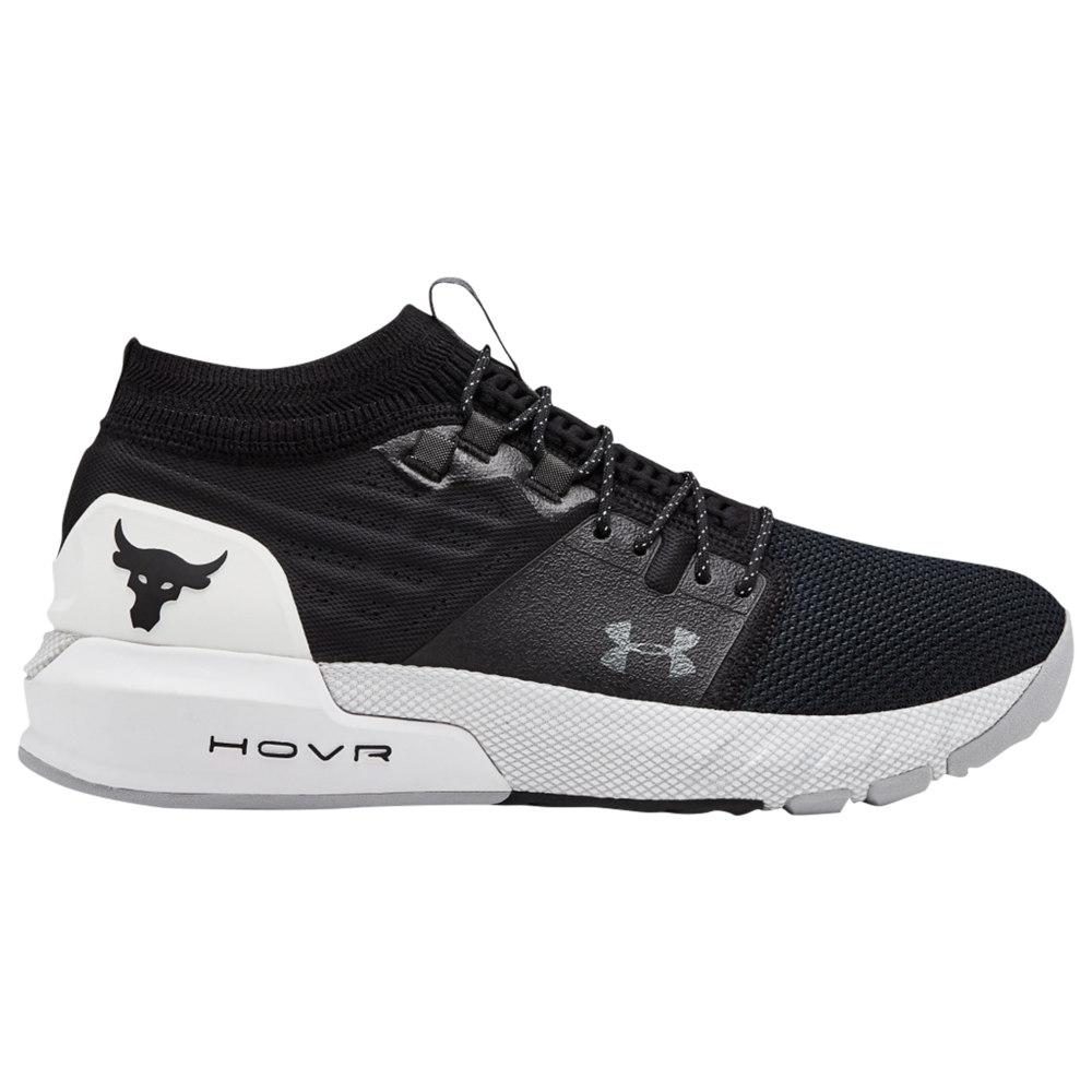 アンダーアーマー Under Armour メンズ フィットネス・トレーニング シューズ・靴【Project Rock 2】Black/White/Black Dwayne Johnson